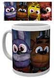 Five Nights at Freddys - Faces Mug Tazza