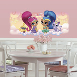 Shimmer and Shine Burst Giant Wall Graphic Wall Decal