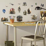 Star Wars Rogue One Peel and Stick Wall Decals Veggoverføringsbilde