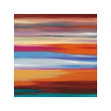 Painted Skies 1 Giclee-trykk av Mary Johnston
