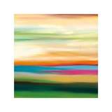 Painted Skies 3 Giclee-trykk av Mary Johnston