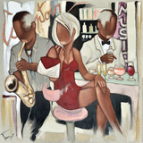 Musique de Comptoir Plakater af Pierre Farel