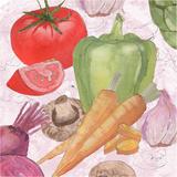 Veggie Medley II Posters by Leslie Mark