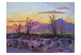 Violet Point Posters by Erin Hanson