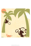 Baby Jungle II Pósters por June Erica Vess