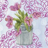 Garden Gate Flowers III Posters by Leslie Mark