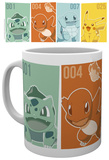 Pokemon - Starters Mug Tazza