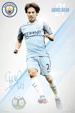 Manchester City- David Silva 16/17 Pôsters