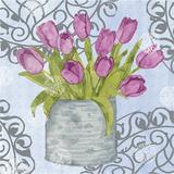 Garden Gate Flowers II Prints by Leslie Mark