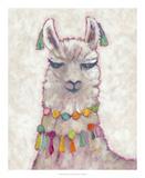 Festival Llama II Print by Chariklia Zarris