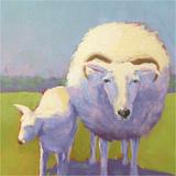 Sheep Pals II Art by Carol Young