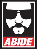 Abide (The Dude) Posters af  Ephemera