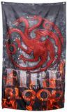 Game of Thrones- Targaryen Fire and Blood Banner Plakater
