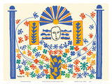 Apollo (Apollon) - Artist Model for a Ceramic Tile Mural Posters van Henri Matisse