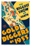 Gold Diggers of 1933 - Starring Warren William and Joan Blondell Affiches van  Pacifica Island Art