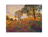 Crystal Hills Prints by Erin Hanson