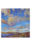 Driving Sky Print by Erin Hanson