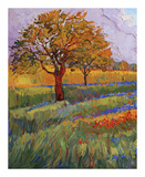 Colors of Brenham (left) Prints by Erin Hanson