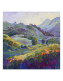 Jeweled Hills Prints by Erin Hanson