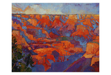 Grand Sunset (center) Prints by Erin Hanson