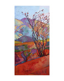 Ocotillo Triptych (left) Prints by Erin Hanson