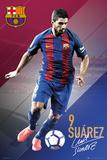 FC Barcelona- Suarez 16/17 Posters