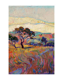 Summer in Triptych (right) Posters by Erin Hanson