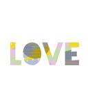 Patterned Love Lámina giclée por Clara Wells