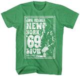 Jimi Hendrix- New York Live '69 Tshirts