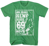 Jimi Hendrix- New York Live '69 T-Shirts