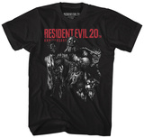 Resident Evil- 20Th Anniversary Monsters T-skjorte