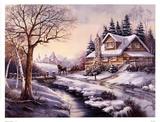 Reflections At Twilight Láminas por Carl Valente