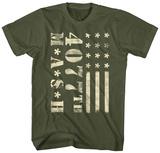M.A.S.H- 4077Th Flag T-Shirts