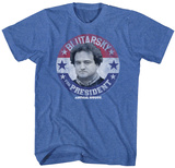 Animal House- Blutarsky For Prez Button T-Shirt
