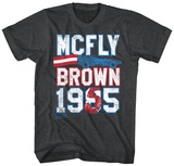 Back To The Future- Mcfly Brown Ticket T-skjorte