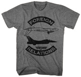 Top Gun- Foreign Relations T-shirts