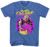 Macho Man- Savage Neon T-skjorter