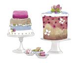 Cake Party Reproduction procédé giclée par Sandra Jacobs