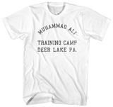 Muhammad Ali- Deer Lake Training Camp T-skjorter