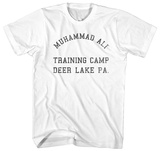 Muhammad Ali- Deer Lake Training Camp T-shirts
