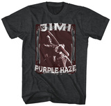Jimi Hendrix- Purple Haze Stamp T-Shirt