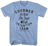 The Breakfast Club- Shermer High Detention Team Shirts