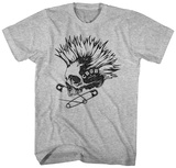 CBGB- Punked Out Skull T-Shirts