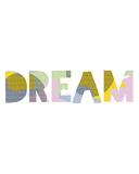 Patterned Dream Lámina giclée por Clara Wells
