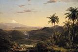 Cotopaxi Reproduction procédé giclée par Frederic Edwin Church
