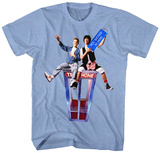 Bill & Ted: Excellent Adventure- You Should Be Here T-shirts