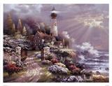 Coastal Splendor Posters av James Lee