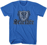 Scarface- Coat Of Arms Shield T-skjorte