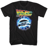 Back To The Future- Flying Through Time Skjorte