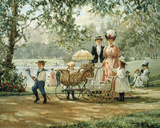 A Walk in the Park Giclee Print by Alan Maley